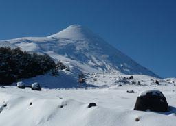 Volcán Osorno en invierno